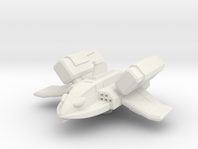 XM1 Gunboat Fighter  in White Natural Versatile Plastic