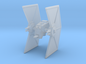 UGLY ATST MINER TIE FIGHTER in Smooth Fine Detail Plastic