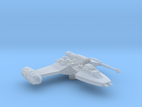 YX Fighter in Smooth Fine Detail Plastic