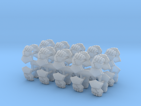 Royal Fists Shoulder pad icons x40 #2 L in Smooth Fine Detail Plastic