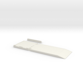 ZBay06a - Warehouse, quay in White Natural Versatile Plastic
