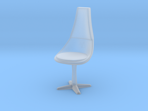Crew Chair, 1:87 Scale in Smooth Fine Detail Plastic