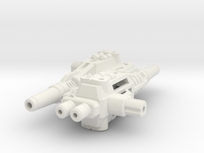 Fearsome Gust Twin Blasters in White Strong & Flexible