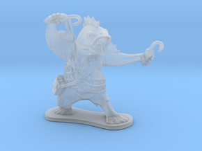 Fish Cleric in Smooth Fine Detail Plastic