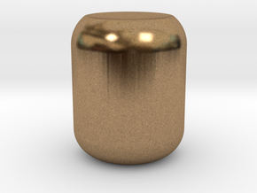 Attachment Cover Knob – for Kitchenaid Stand Mixer in Natural Brass