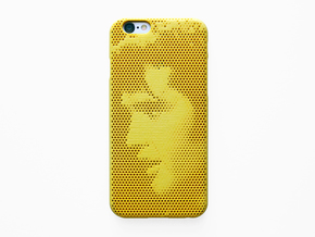 iPhone 6S case_Elvis Presley No.2 in Yellow Processed Versatile Plastic