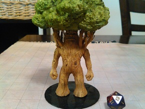 Treant in Green Processed Versatile Plastic