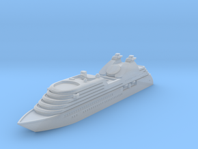 Miniature Seabourn Odessey - 10cm in Smooth Fine Detail Plastic