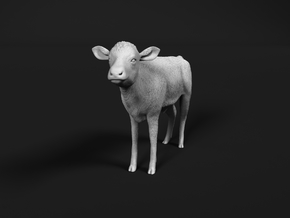 ABBI 1:64 Standing Calf in Smooth Fine Detail Plastic
