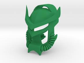 Custom Samurai Noble Miru in Green Processed Versatile Plastic