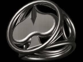 Size 16 5 mm LFC Spades in Polished Silver