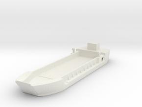 Landing Craft Tank LCT MK  5 1/285 6mm in White Natural Versatile Plastic