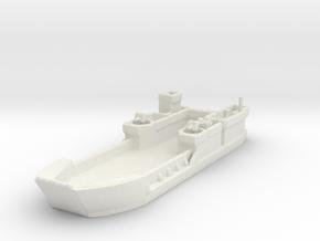 Landing Craft Tank LCT MK  6 1/700  in White Natural Versatile Plastic
