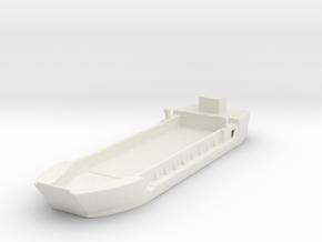 Landing Craft Tank LCT MK  5 1/600  in White Natural Versatile Plastic
