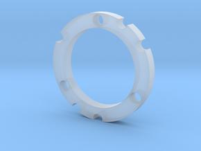 R-type Full Round SwissCHZ in Smooth Fine Detail Plastic