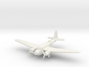 "North American XB-21 ""Dragon"" 1/285 6mm in White Natural Versatile Plastic"