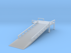 Boxcar Loading Ramp - Nscale in Smooth Fine Detail Plastic