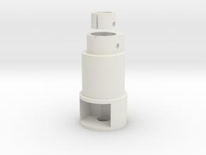 King Arms R93 BEM Hop Up in White Natural Versatile Plastic