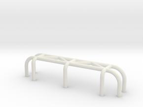 Team Crab_Walk - bashbar type 3 in White Natural Versatile Plastic
