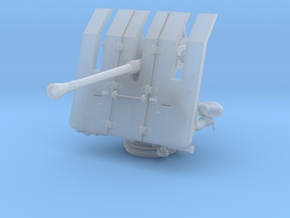 1/100 DKM 3.7cm Flak M42 Single Mount in Smooth Fine Detail Plastic