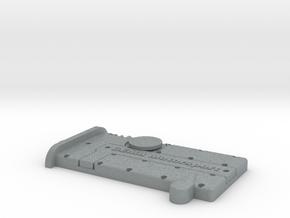 key chain Schlüsselanhänger GEMA in Polished Metallic Plastic