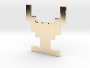 Atari Adventure Chalice - Medium in 14K Yellow Gold: Small