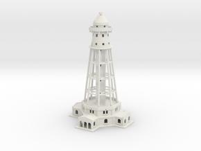 Montreal Mooring Mast 1/700 & 1/600 scale in White Natural Versatile Plastic: 1:700
