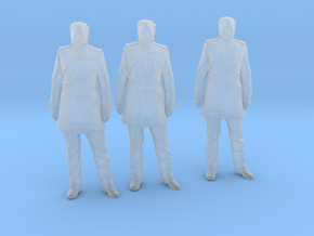 kalakaua standing 3 pack in Smoothest Fine Detail Plastic