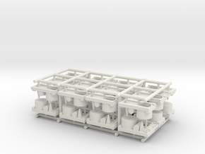 Small Naval Base x24 in White Natural Versatile Plastic