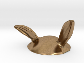 Eggcessories! Bunny Ears in Natural Brass