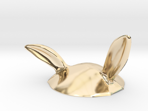 Eggcessories! Bunny Ears in 14K Yellow Gold