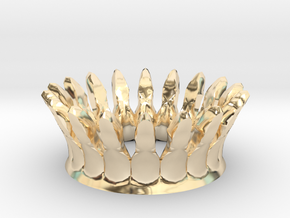 Eggcessories! Crown in 14K Yellow Gold