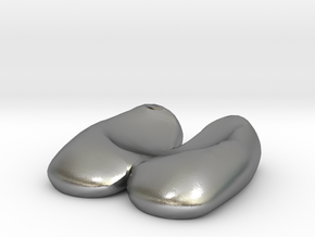 Eggcessories! Egg Feet in Natural Silver