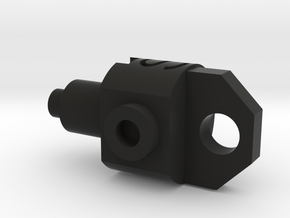 Deranged PTS Masada Gas Adjuster in Black Natural Versatile Plastic
