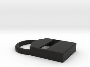 Kiwi – Shell for MiaoMiao (Libre): NO Armband!  in Black Premium Versatile Plastic