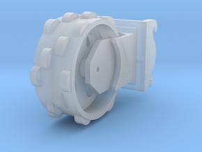 verdichtingswiel 3D in Smooth Fine Detail Plastic