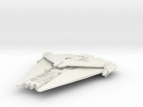 Narn G'eron Battleship in White Natural Versatile Plastic