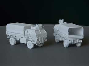 M1078 Armored Cab Covered esc: 1:200 in Smooth Fine Detail Plastic