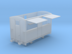 009 Talyllyn Rly Tea Van (open) in Smooth Fine Detail Plastic
