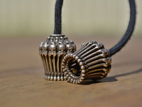 Begleri - voodoo - Bead Only (pair) in Polished Bronze Steel