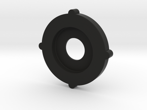 Tornado botom plate + hole M30x1.5 in Black Natural Versatile Plastic