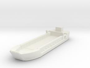 Landing Craft Tank LCT MK 5 1/1200 in White Natural Versatile Plastic