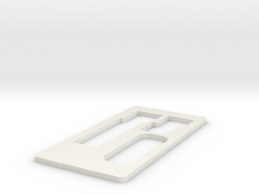 MiSTer XS Case v5.2 XS Back (4/4) in White Strong & Flexible