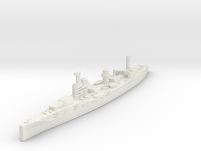 Borodino Class Battlecruiser (Russia) in White Natural Versatile Plastic