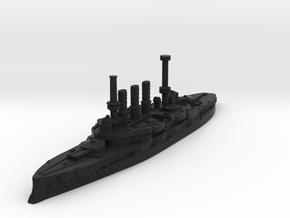 Deutschland Class Pre-Dreadnought in Black Premium Versatile Plastic