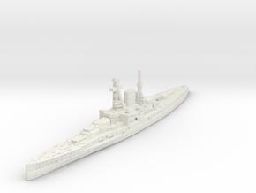 Ersatz Yorck Battlecruiser (German Navy) in White Natural Versatile Plastic