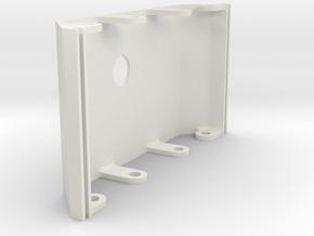 rampage_rear_top_shield in White Natural Versatile Plastic