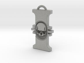 warhammer 40 000 inquisitor Pendant in Metallic Plastic
