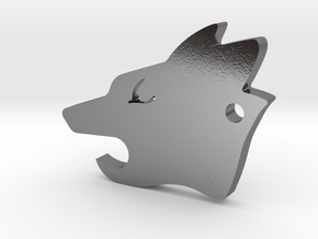 Howler Pup - Wolf Pack EDC in Polished Silver