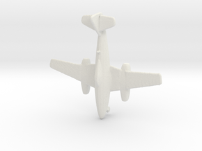 1:285    Messerschmitt Me-262 A-1a     (Gear Down) in White Natural Versatile Plastic